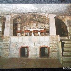 Postales: BELÉN. ALTAR DE SAN JOSÉ EN LA GRUTA DE SAN JERÓNIMO. NUEVA. Lote 109359398