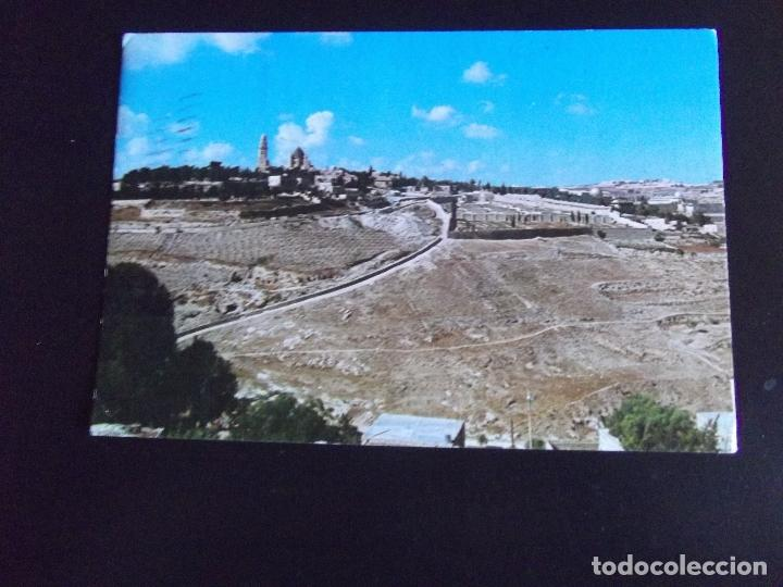 ASIA-V45-ISRAEL-JERUSALEM-GENERAL VIEW-CIRCULADA (Postales - Postales Extranjero - Asia)