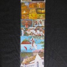 Postales: LOTE DE 10 POSTALES DE SRI LANKA. Lote 114977915