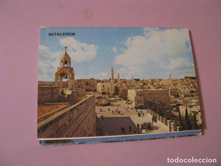 BLOCK DE POSTALES DE ISRAEL. BELEN. 10 POSTALES. (Postales - Postales Extranjero - Asia)