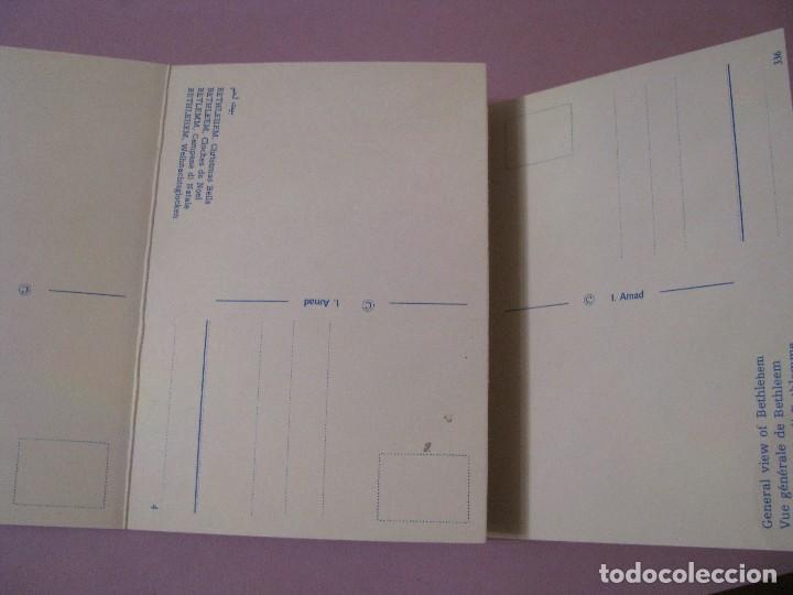 Postales: BLOCK DE POSTALES DE ISRAEL. BELEN. 10 POSTALES. - Foto 2 - 117855519