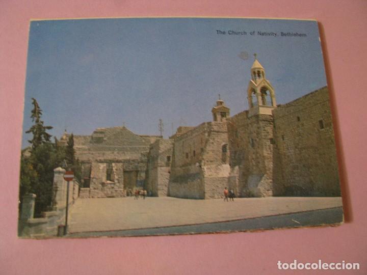 Postales: BLOCK DE POSTALES DE ISRAEL. BELEN. 10 POSTALES. - Foto 3 - 117855519