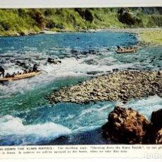 Postales: ANTIGUA POSTAL - JAPÓN, SHOOTING DOWN THE KUMA RAPIDS - 1962. Lote 118709187
