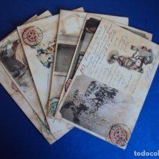 Postales: (PS-56397)LOTE DE 7 POSTALES DE GUEISAS-CIRCULADAS. Lote 122789523