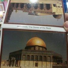 Postales: POSTAL JERUSALÉN LOTE DE POSTALES DE JERUSALÉN THE DOME OF THE ROCK (DIEZ POSTALES). Lote 124401851