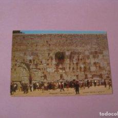 Postales: POSTAL DE ISRAEL. JERUSALEN. JERUSALEM. ED. PALPHOT. . Lote 125097787
