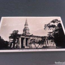 Postales: POSTAL (MADRAS. ST. GEORGE'S CATHEDRAL) INDIA. ED. HIGGINBOTHAMS LTD. MADRAS & BANGALORE. Lote 125117579