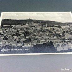 Postales: POSTAL (JERUSALEM. FROM THE MOUNT OF OLIVES ) 14 X 9CM. NO ESCRITA. PALESTINA. Lote 125140967
