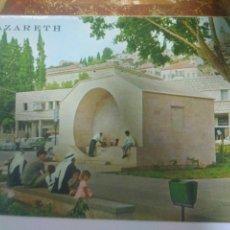 Postales: LIBRILLO O CARPETA CON 10 BONITAS FOTO POSTALES DE NAZARET.ISRAEL.VER FOTOS. Lote 129332000