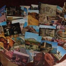 Postales: LOTE DE 103 POSTALES DE ISRAEL / TIERRA SANTA SIN CIRCULAR. Lote 130259162
