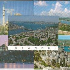 Postales: LOTE 5 POSTALES *ISTANBUL* (TURQUIA) - DIFERENTES. Lote 132523630