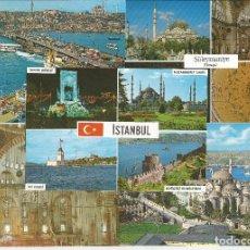 Postales: LOTE 5 POSTALES *ISTANBUL* (TURQUIA) - DIFERENTES. Lote 132523698