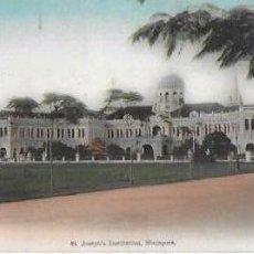 Postales: P- 8620. POSTAL SINGAPORE, ST. JOSEPH'S INSTITUTE. Nº 30. . Lote 135214574
