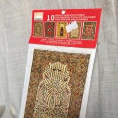 Postales: POSTALES ARTE TURCO 10 UDS. Lote 135619142