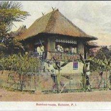 Postales: P- 8925. POSTAL BAMBOO HOUSE, BULACAN. P.I. . Lote 136468306
