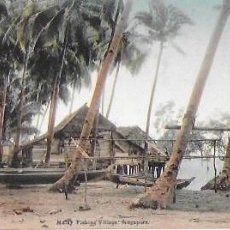 Postales: P- 8938. POSTAL MALAY FISHING VILLAGE, SINGAPORE. . Lote 136478238