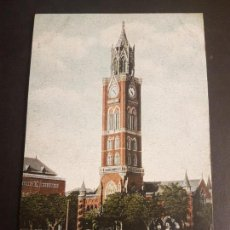 Postales: BOMBAY INDIA THE UNIVERSITY AND CLOCK TOWER. Lote 140607054