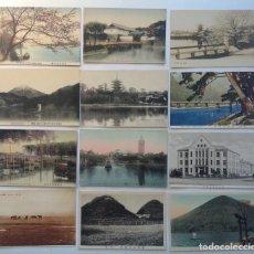 Postales: JAPON * LOTE DE 12 ANTIGUAS POSTALES * L-3. Lote 142944662