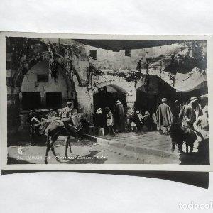 Jerusalem Street near Damascus Gate Jersusalen cerca de la puerta de Damasco