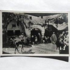 Postales: JERUSALEM STREET NEAR DAMASCUS GATE JERSUSALEN CERCA DE LA PUERTA DE DAMASCO. Lote 146403994