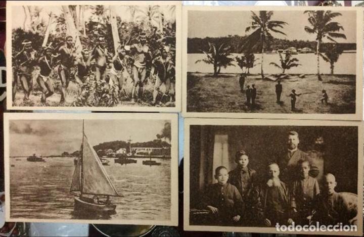 Postales: 8 -Postales Mision de las Carolinas y Marianas Primera y Segunda Serie - Foto 2 - 146499254