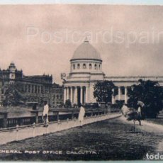 Postales: ASIA GENERAL POST OFFICE CALCUTTA POSTKARTE ASIEN. Lote 147274818