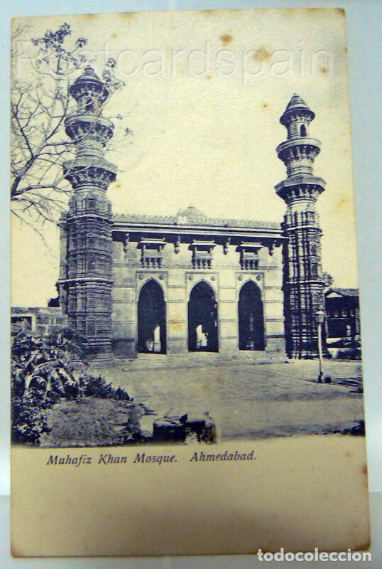 ASIA MUHAFIZ KHAN MOSQUE - AHMEDABAD POSKARTE ASIEN INDIA (Postales - Postales Extranjero - Asia)