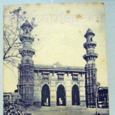 Postales: ASIA MUHAFIZ KHAN MOSQUE - AHMEDABAD POSKARTE ASIEN INDIA. Lote 147276422