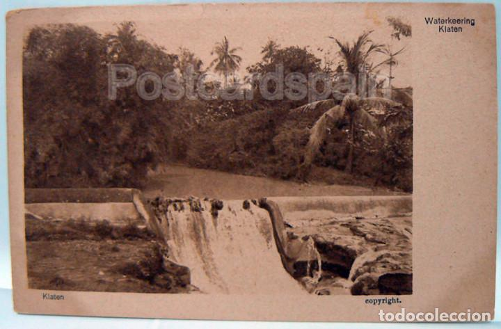 ASIA WATERKEERING KLATEN POSTKARTE ASIEN LANDSCAPE (Postales - Postales Extranjero - Asia)