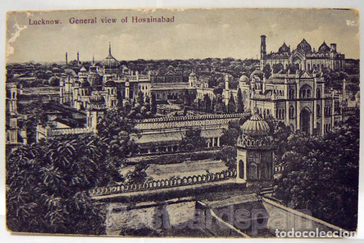 ASIA INDIA LUCKNOW. GENERAL VIEW OF HOSAINABAD POSTKARTE ASIEN (Postales - Postales Extranjero - Asia)