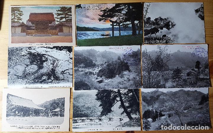 Postales: Lote de 72 postales de japon - Foto 3 - 147949794