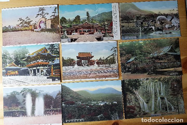 Postales: Lote de 72 postales de japon - Foto 4 - 147949794