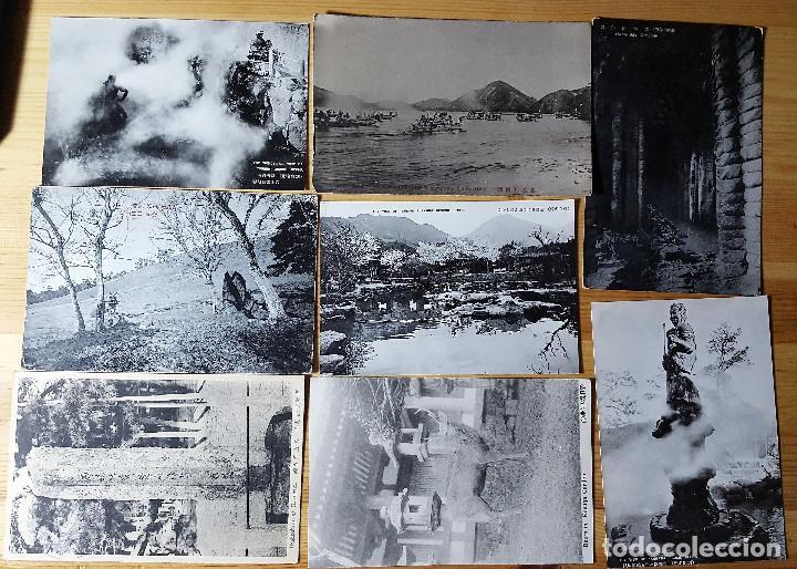 Postales: Lote de 72 postales de japon - Foto 7 - 147949794