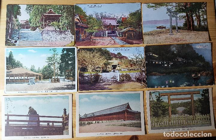 Postales: Lote de 72 postales de japon - Foto 8 - 147949794