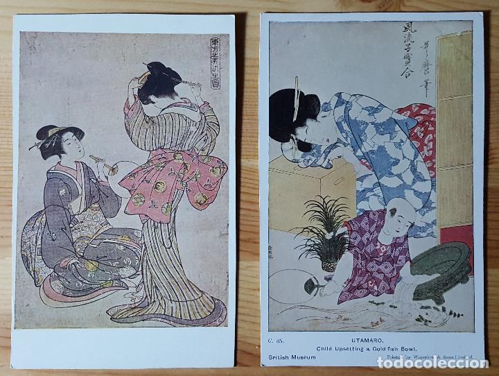 Postales: Lote de 72 postales de japon - Foto 9 - 147949794