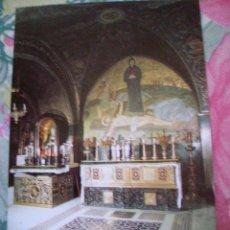 Postales: POSTAL ABADIA O IGLESIA DEL SANTO SEPULCRO CALVARIO. Lote 151712154