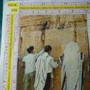 Postales: POSTAL DE ISRAEL. JERUSALEN, MURO DE LAS LAMENTACIONES. ÉTNICA, ESCENA TÍPICA VIVA. 311. Lote 160753302