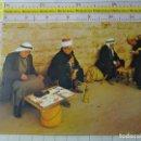Postales: POSTAL DE ISRAEL. JERUSALEN, FUMANDO PIPAS DE AGUA CACHIMBAS. ÉTNICA, ESCENA TÍPICA VIVA. 312. Lote 160753386