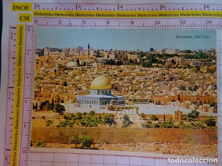 POSTAL DE ISRAEL. JERUSALEN, CIUDAD ANTIGUA DESDE MONTE DE LOS OLIVOS. 1078 (Postales - Postales Extranjero - Asia)