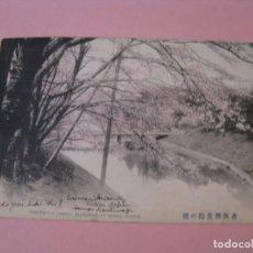 Postales: POSTAL DE JAPON. TOKYO - (SAKURA) CHERRY BLOSSOMS AT BENKEI BRIDGE. CIRCULADA PRINCIPIO SIGLO XX.. Lote 167584284