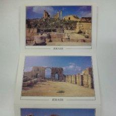 Postales: LOTE DE 3 POSTALES DE JERASH. . Lote 168550012