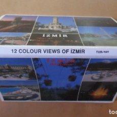 Postales: TIRA DE 12 POSTALES - IZMIR/ESMIRNA (TURQUIA) - ED. TUR-YAY. Lote 169916556