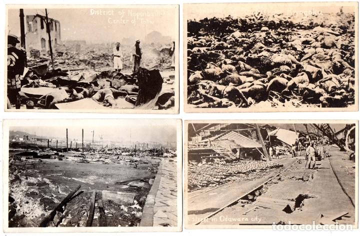 PS8231 LOTE DE 12 POSTALES DEL TERREMOTO DE JAPÓN DE 1923. PAPEL FOTOGRÁFICO (Postales - Postales Extranjero - Asia)
