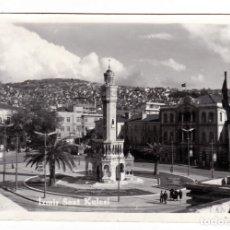 Postales: IZMIR SAAT KULESI (TORRE DEL RELOJ) TURQUIA. Lote 178153359