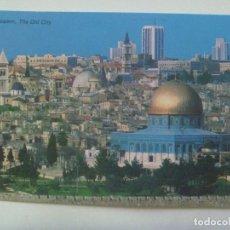 Postales: POSTAL DE JERUSALEM ( ISRAEL ): CIUDAD VIEJA DESDE EL MONTE DE LOS OLIVOS. Lote 178808940