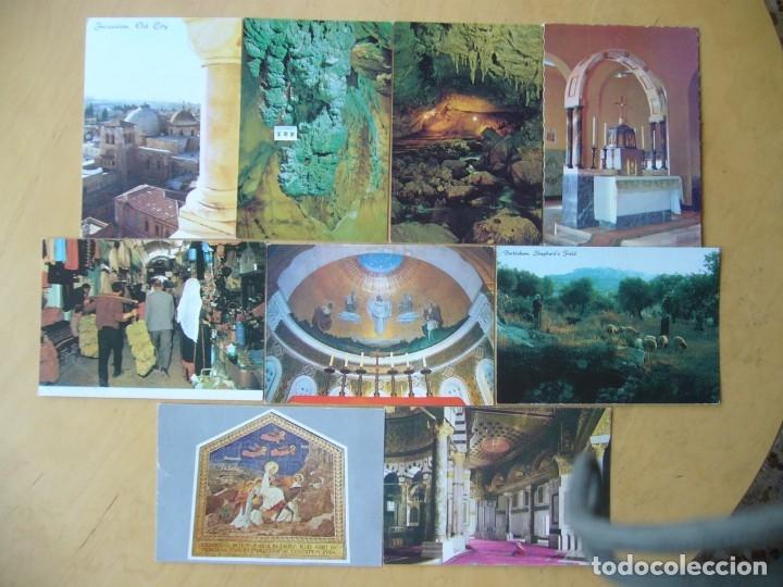 LOTE 7 POSTALES ISRAEL Y JAPÓN (Postales - Postales Extranjero - Asia)