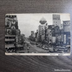 Postales: GINZA STREET. JAPON. Lote 179207183