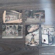 Postales: LOTE DE POSTALES ANTIGUAS DE MUJERES JAPONESAS. . Lote 180149187