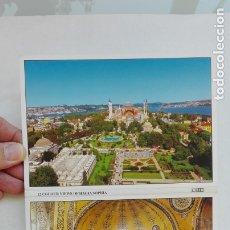 Postales: ACORDEÓN DE 12 POSTALES DE SANTA SOFÍA , TURQUÍA. Lote 180416931