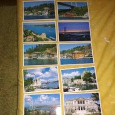 Postales: 12 POSTALES DE ESTAMBUL.. Lote 182161413